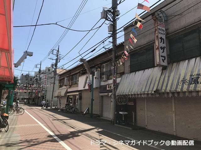 熊野前商店街、自転車屋