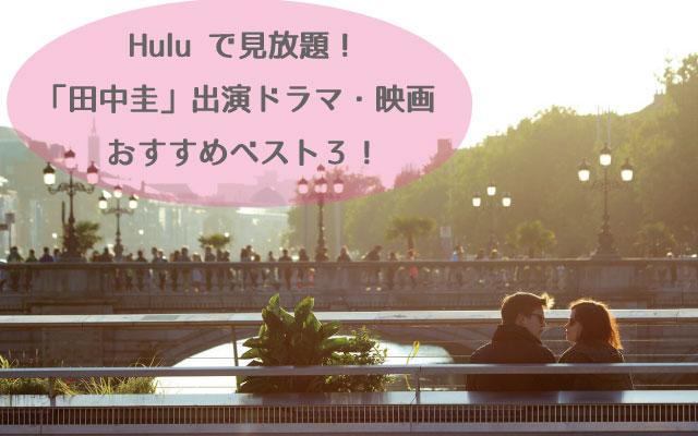 田中圭huluおすすめ動画!