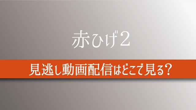 赤ひげ2 動画